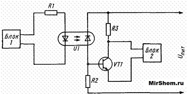 Еще одна схема оптрона пс817
