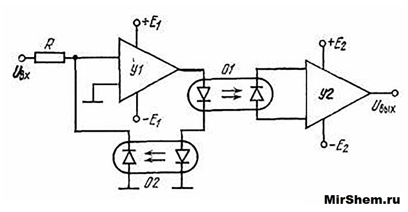 Схема развязки блоков
