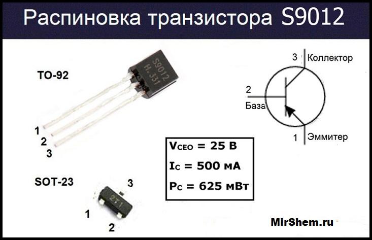 S9012 цоколевка