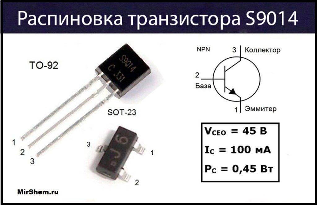 S9014 цоколевка